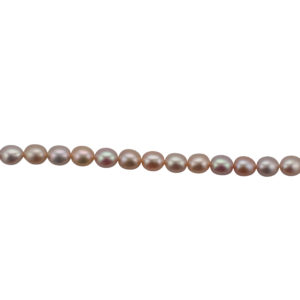 Multi Freshwater Pearl Necklace Row Rice