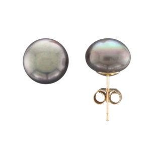9CTY 10MM FRESHWATER PEARL STUD EARRING