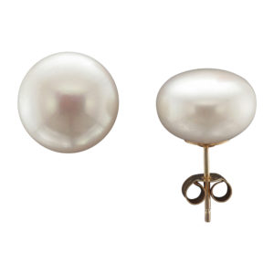 12MM FRESHWATER PEARL STUD EARRING 9CTY