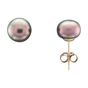 9CTY 8MM FRESHWATER PEARL STUD EARRING