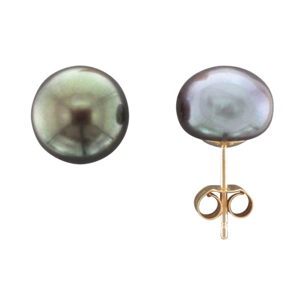 9CTY 9MM FRESHWATER PEARL STUD EARRING